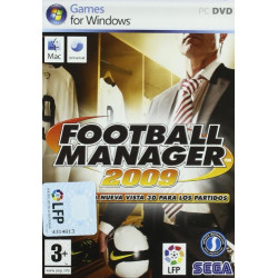 PC FOOTBALL MANAGER 2009 - 2009 FOOTBALL MANAGER