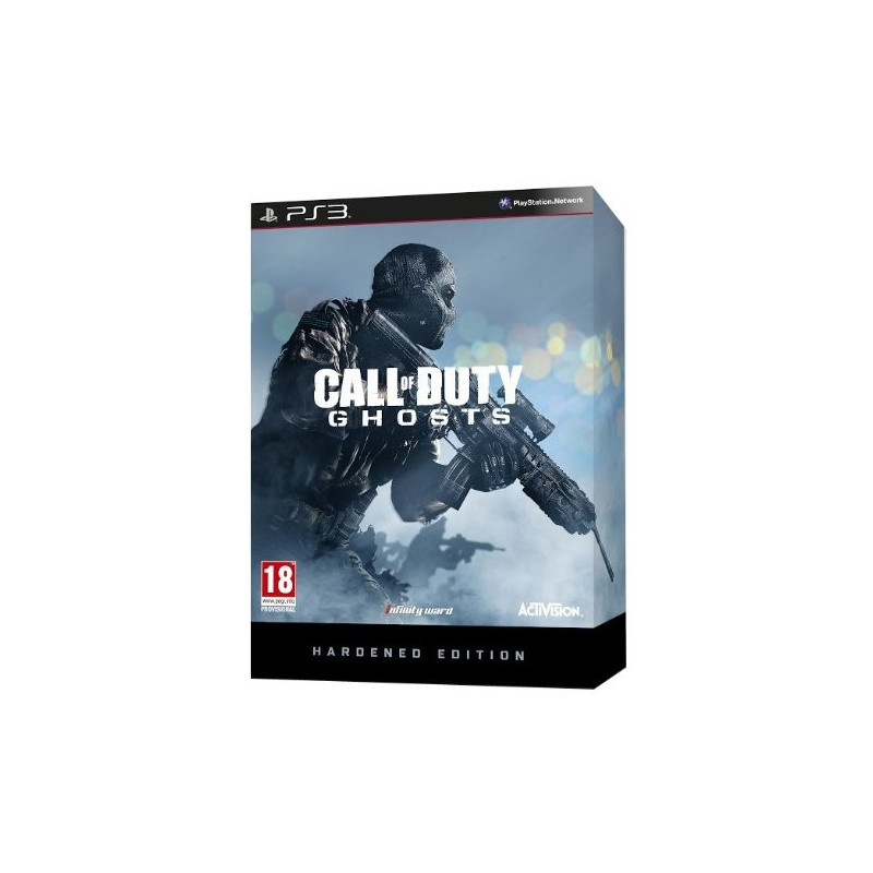 PS3 CALL OF DUTY GHOSTS HARDENED - HARDENED GHOSTS CALL OF DUTY