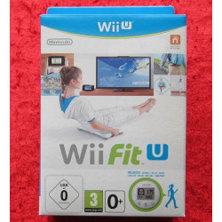 WIIU WII FIT U + FIT METER SET