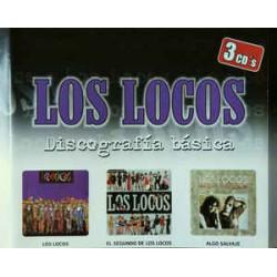 LOS LOCOS - DISCOGRAFIA BASICA