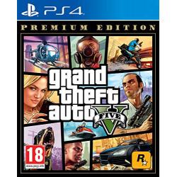 PS4 GTA V - PREMIUM EDITION...