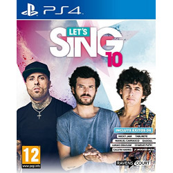 PS4 LET'S SING 10 - LET'S...