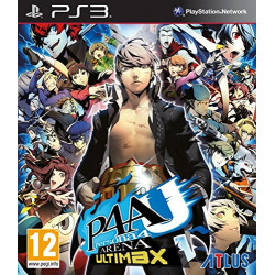 PS3 PERSONA 4 ARENA ULTIMAX