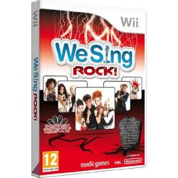 WII WE SING ROCK! - WE SING...