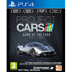 PS4 PROJECT CARS GAME OF...