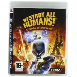 PS3 DESTROY ALL HUMANS: EL...