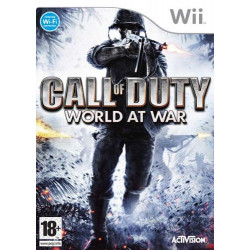 WII CALL OF DUTY, WORLD AT WAR