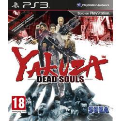 PS3 YAKUZA DEAD SOULS