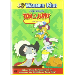 DVD TOM Y JERRY VOL.6 - VOL.6