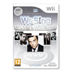 WII WE SING ROBBIE WILLIAMS...