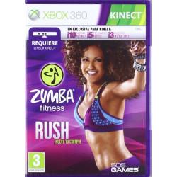X3 ZUMBA FITNESS RUSH KINECT