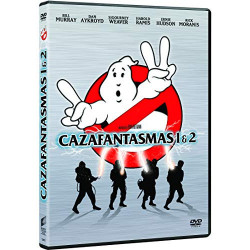 DVD CAZAFANTASMAS 1 Y 2 -...