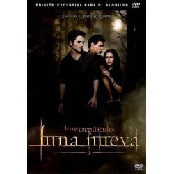 DVD CREPUSCULO LUNA NUEVA -...