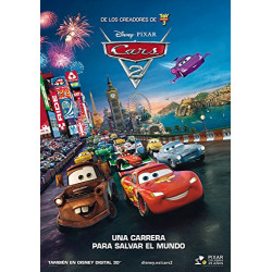 BR CARS 2 COMBO + DVD -...