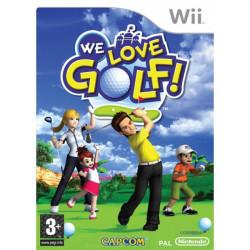 WII WE LOVE GOLF - WE LOVE...