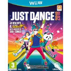 WIIU JUST DANCE 2018 - JUST...