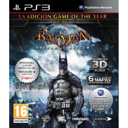 PS3 BATMAN: ARKHAM ASYLUM GOTY