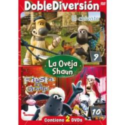 DVD LA OVEJA SHAUN 9 Y 10 -...