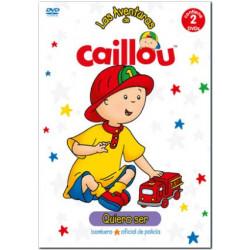 DVD CAILLOU, BOMBERO,...