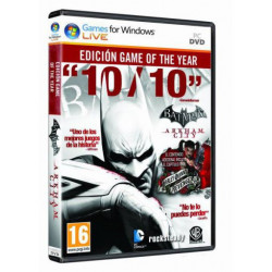 PC BATMAN ARKHAM CITY GOTY