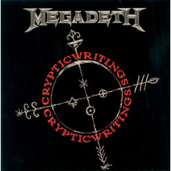 MEGADETH - CRYPTIC WRITINGS