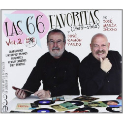 VARIOS LAS 66 FAVORITAS -...