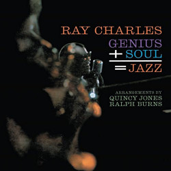 RAY CHARLES – GENIUS+SOUL JAZZ