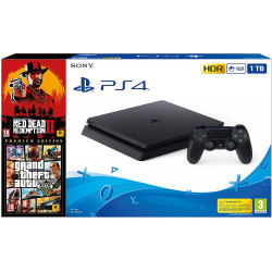 PS4 CONSOLA SLIM 1TB + Red...