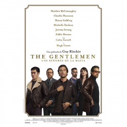 DVD THE GENTLEMEN. LOS...