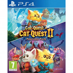PS4 PAWSOME PACK CAT QUEST...