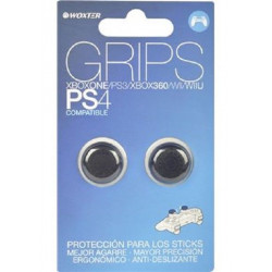 PS4 GRIPS NEGROS WOXTER