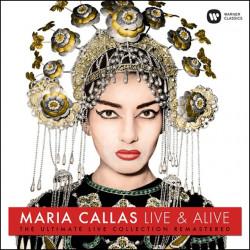 MARIA CALLAS - LIVE AND...