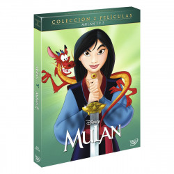 DVD MULAN 1+2 (DVD)