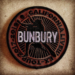 BUNBURY - PARCHE BORDADO...