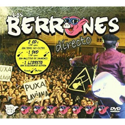 LOS BERRONES - DIRECTO + DVD