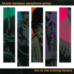 BLUIETT BARITONE SAXOPHONE...