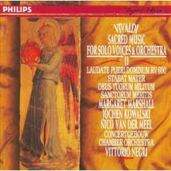 VIVALDI - MUSICA SACRA II