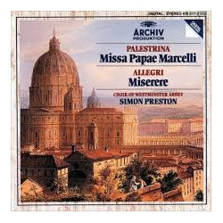 PALESTRINA - SIMON PRESTON...