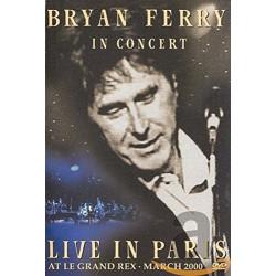 BRYAN FERRY - LIVE IN PARIS...