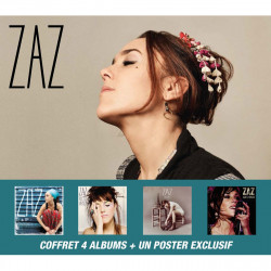 ZAZ - COFFRET (4 CD+1 DVD) -
